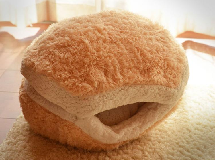Cat Cheeseburger Bed