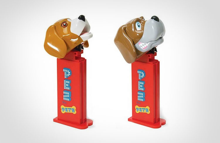 giant dog treat pez dispenser