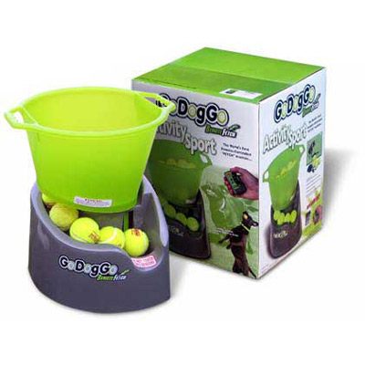 GoDogGo Dog Ball Fetch Machine - Automatic Ball Thrower For Dogs