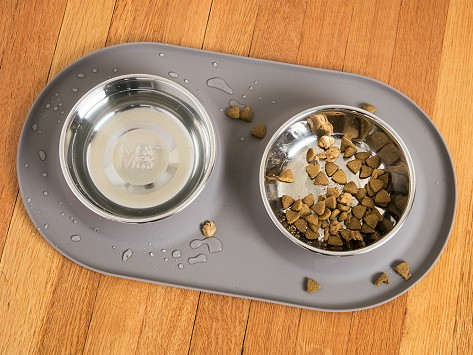 Messy Mutts Silicone Non-Slip Dog/Cat Feeder Mat