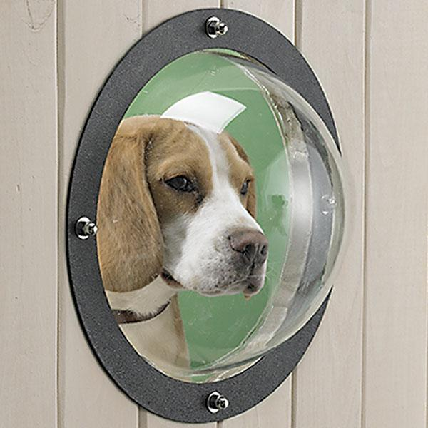 Pet-Peel Fence Bubble Window For Dogs