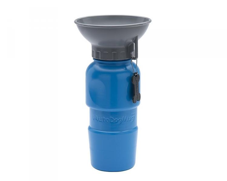 Travel Water Bottle For Dogs - AutoDogMug - Squeeze Dog Travel Bottle